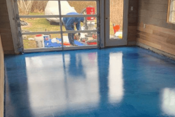 Epoxy flooring near me